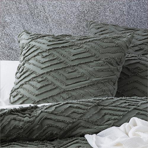 Revive Living Chevvy Cotton Chenille Tufted Quilt cover set Quilt cover set European P/ Case