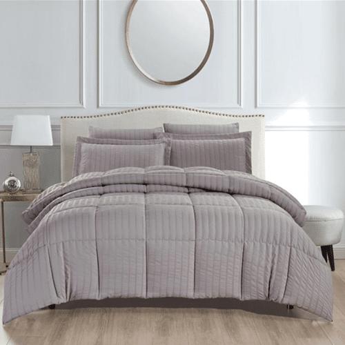 Revive Living- Seersucker 3 Piece Comforter